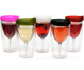 Wine Glass Sippy Cup