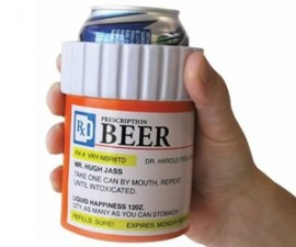 Prescription Beer Koozie