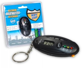 Alcohol Breathalyzer Keychain