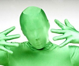 Green Man Suit