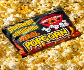 Ghost Pepper Popcorn