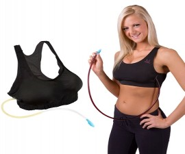 The Wine Rack Flask Bra