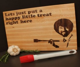 Happy Painter Cutting Board