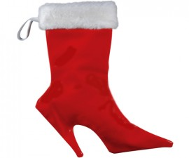 Sexy Santa Boot Stocking