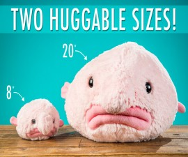 Blobfish Stuffed Animals