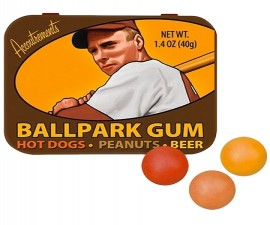 Ballpark Flavored Gum