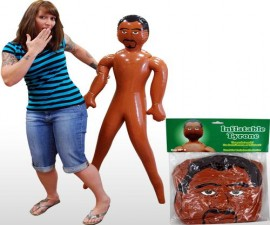Inflatable Tyrone Doll