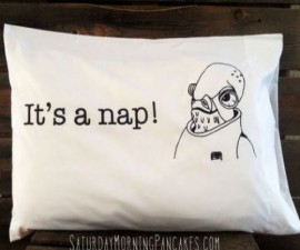 Star Wars It's A Nap! Pillow Case