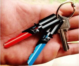 Star Wars Lightsaber Keys
