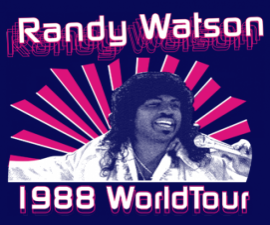 Randy Watson World Tour Shirt
