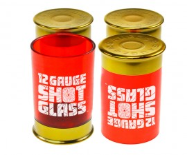 12 Gauge Cartridge Shot Glasses