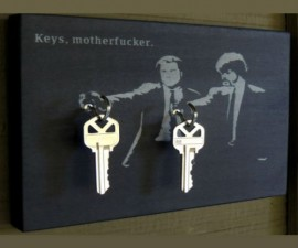 Keys Motherf*cker Key Holder