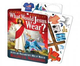 Jesus Dress Up Magnets