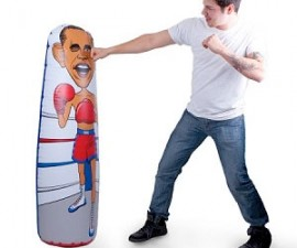 Obama Bop Punching Tower