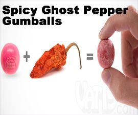 Spicy Ghost Pepper Gumballs