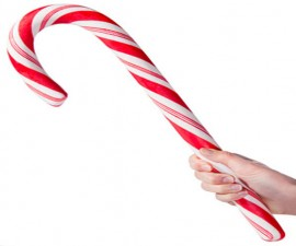 The Giant Edible Candy Cane