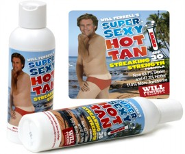 Will Ferrell's Sexy Sunscreen
