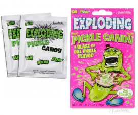 Exploding Pickle Candy